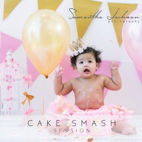 Cake Smash - Nihad Images by Samantha Jackson Photography [CAKE SMASH - NIHAD] #cakesmash #samanthajacksonphotography #cakesmashphotographer #studiophotographer #bigbay #blouberg #capetownphotographer #familyportraits #newbornphotographer