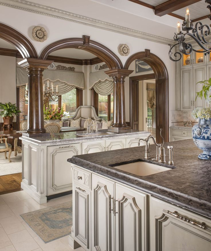Luxury Home Kitchens: DallasDesignGroup