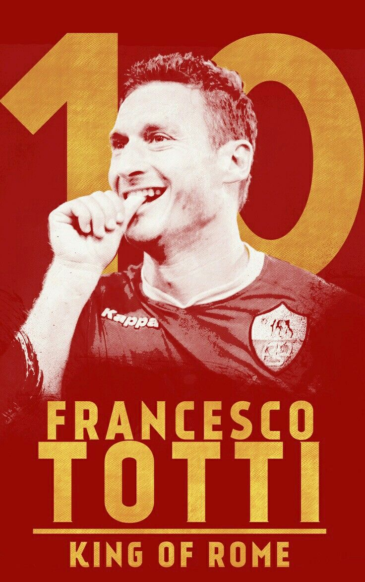 Francesco Totti of AS Roma wallpaper.