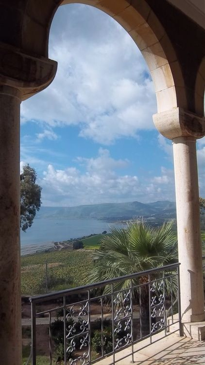 I once took a cruise out here, The Sea of Galilee,Israel
