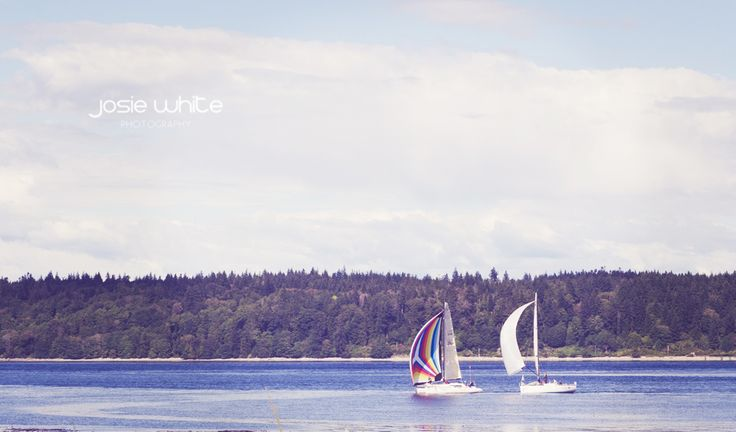Sailboats~ Van Isle 360 Yacht Race, Campbell River, Vancouver Island,  BC, Canada  Josie White Photography