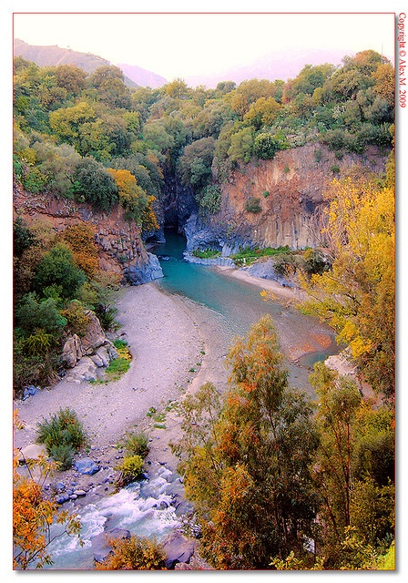 I SWAM/SUN BATHED HERE. IT WAS AMAZING!!!!!  Angoli di Sicilia  Gole dell' Alcantara (ME) Sicilia, Italy