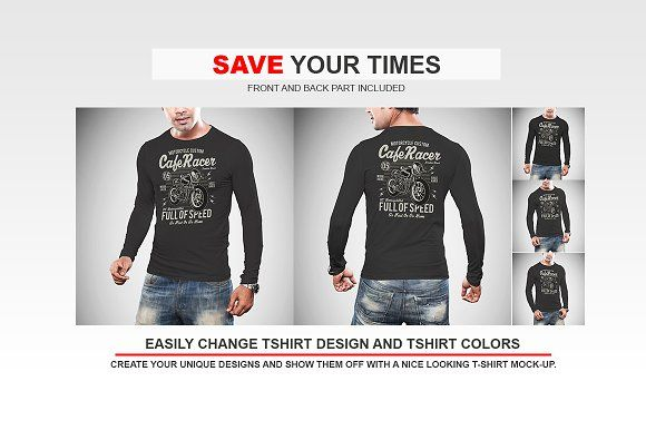 Download Long Sleeve Tshirt Mockup Vol 1 Personalized T Shirts Shirt Mockup Shirts