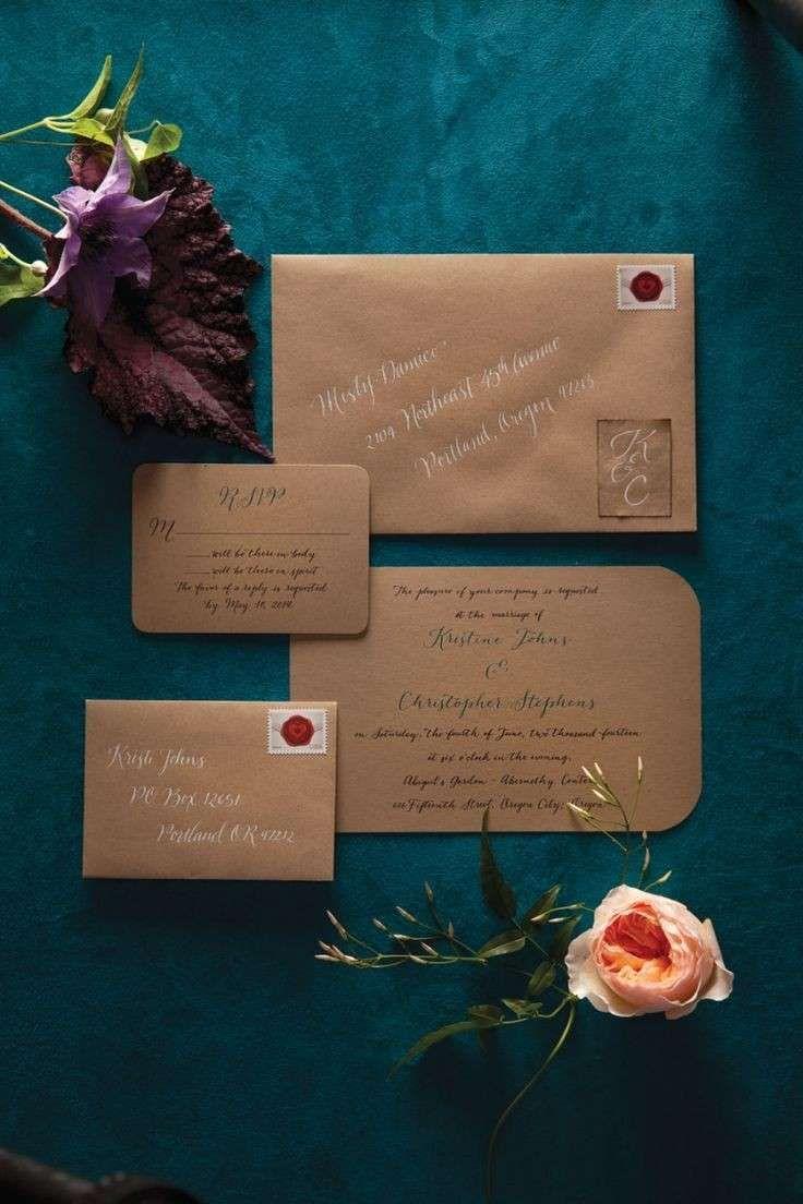 Idee per partecipazioni matrimonio fai da te  (Foto 40/40) | Donna