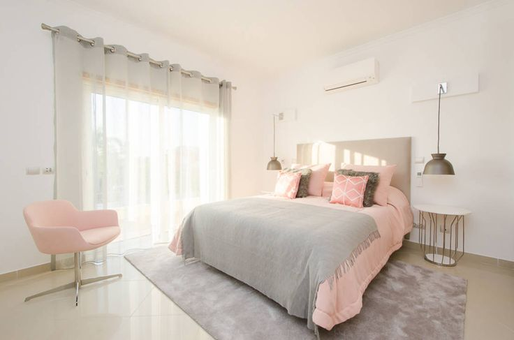 Private Interior Design Project - Vilamoura : Beds & headboards by Simple Taste Interiors
