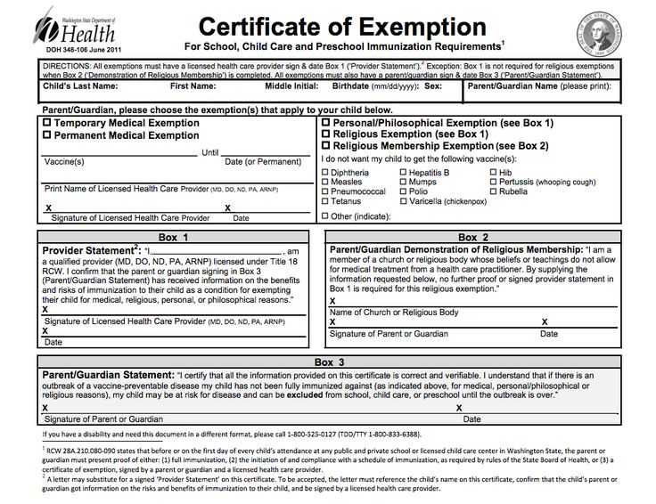 20 best Vaccine Exemptions \ Forms images on Pinterest Gate - vaccine consent form