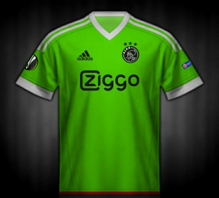 Ajax Amsterdam away shirt for 2015-16.