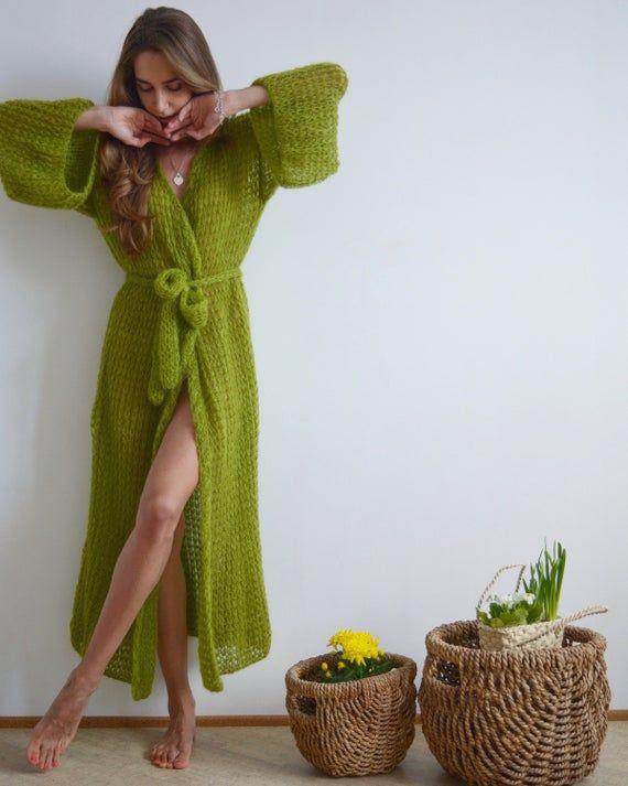knitting cardigan boho