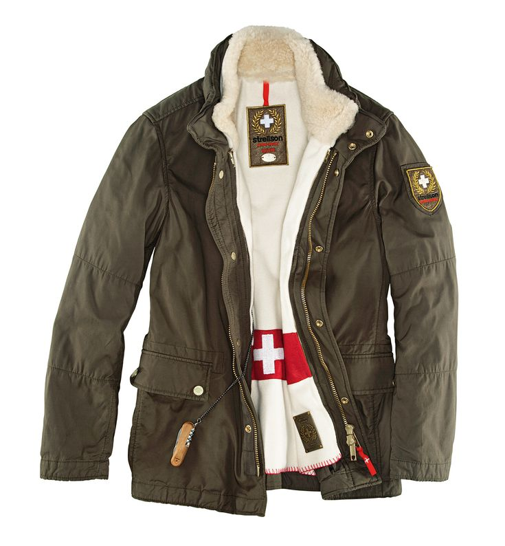 Strellson Swiss Cross Original jacket, 10th anniversary