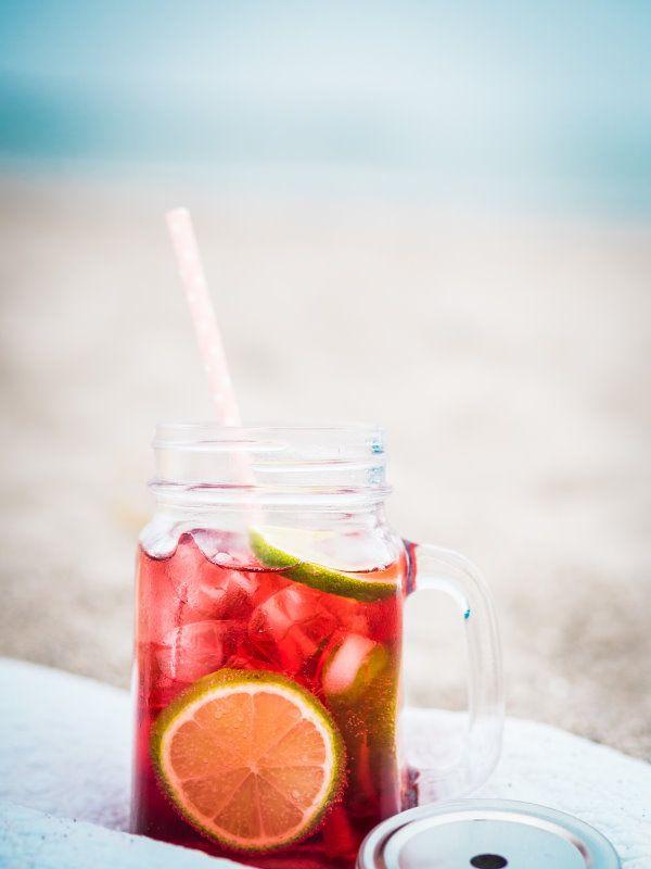 Erfrischung am Abend: Cocktail Sea Breeze  titatoni.de