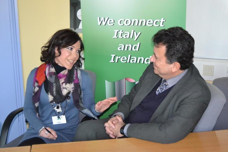 The FIBI interviews Carlos Garcia De Alba, Ambassador of Mexico in Ireland!