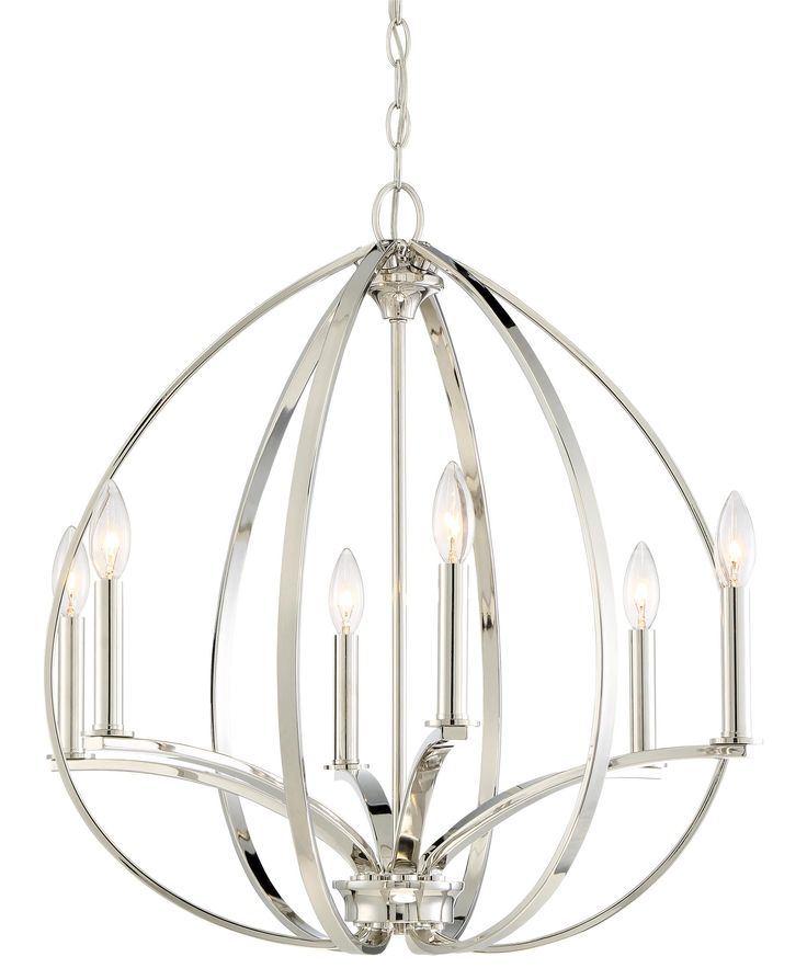 Minka Lavery 4986 Tilbury 24 Inch Wide 6 Light Chandelier Capitol Lighting 1 800lighting