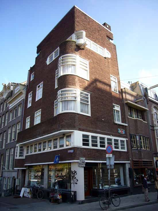 Typical architecture of Amsterdam School.
