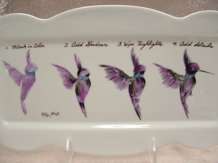 Vickie York - Hummingbird Instructions
