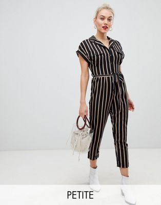 83817c76d5f New Look Petite utility pocket jumpsuit in black. New Look Petite utility  pocket jumpsuit in black Petite Fashion