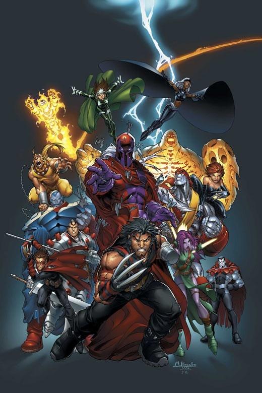 Xmen-Age of Apocalypse.  One of my favorite x-men story line runs.