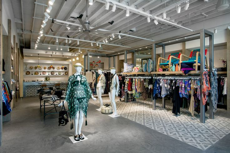 Located in Los Angeles' Brentwood Village, Permanent Vacation is a new retail concept offering contemporary women's clothing, swimwear, resort wear, accessories
