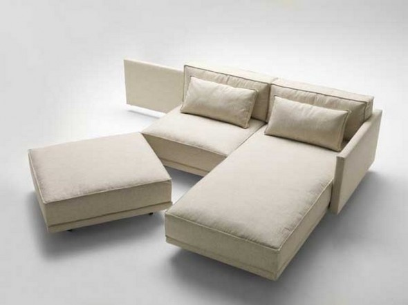 Flexsteel Sofa Sectional Sofa Bed by Guido Rosati