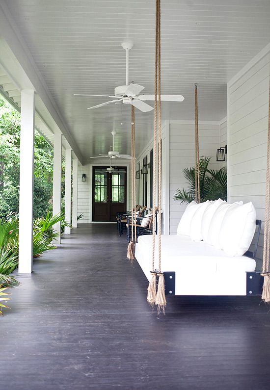 Interiors | A Tropical Home - DustJacket Attic---LOVE THIS PORCH SPACE AND THE DAYBED IS BEAUTIFUL...