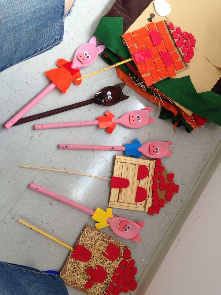 2o Dia da Oficina Virtual de Férias de Verão - Fantoches de colher de Pau #férias #atividades #fantoches #férias #fantoches #materniarte