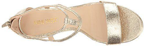 Nine West Women's Alija Leather Dress Sandal #Cute_Shoes, #Flips_Flops, #Sandals, #Shoes, #Women'S_Shoes