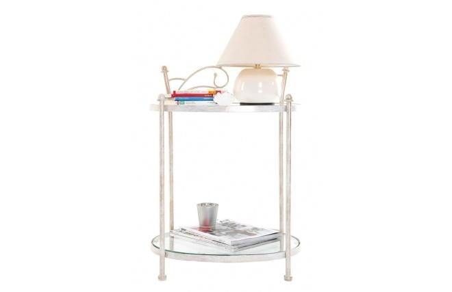 Ambiance romantique assur e avec la table de nuit venezia - Table de nuit romantique ...