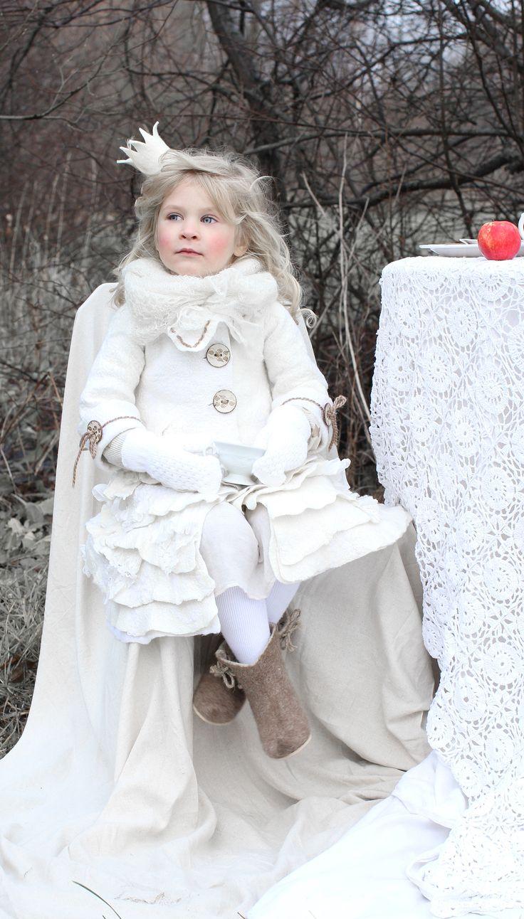 woolen coat by Svetlana Vronski