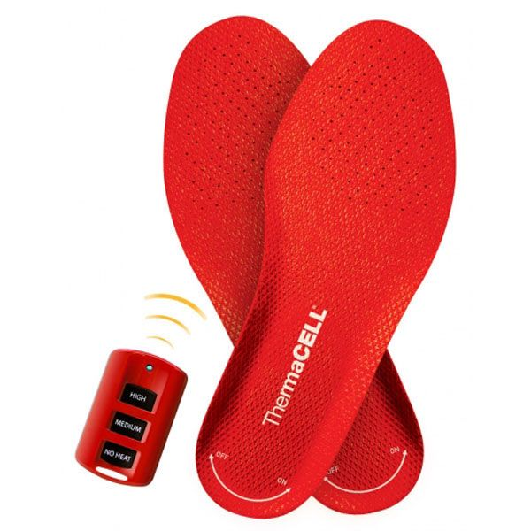 ThermaCell Heated Insoles Rechargeable are a perfect stocking stuffer for hunters and ANYONE that spends time outdoors in the winter!
