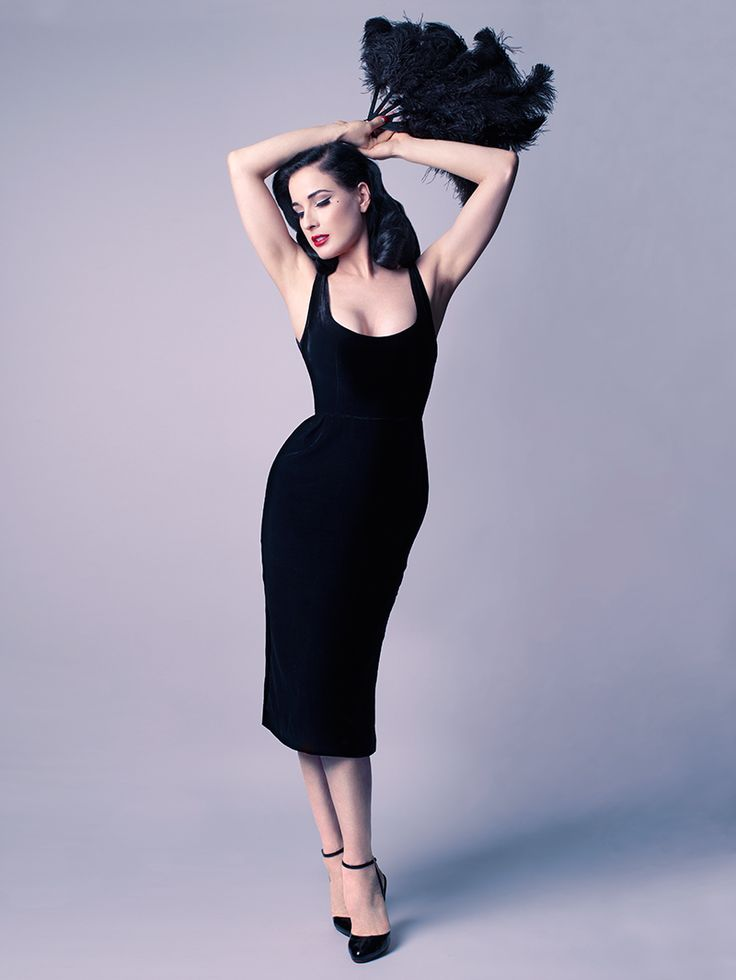 Showcase Dress By Ditavonteese Littleblackdress Classy Exclusive Dita Von Teese Collection