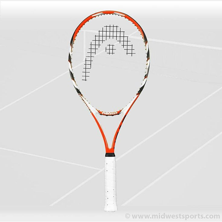 Head MicroGel Radical Oversize Tennis Racquet, Head Racquets - Midwest Sports 0F