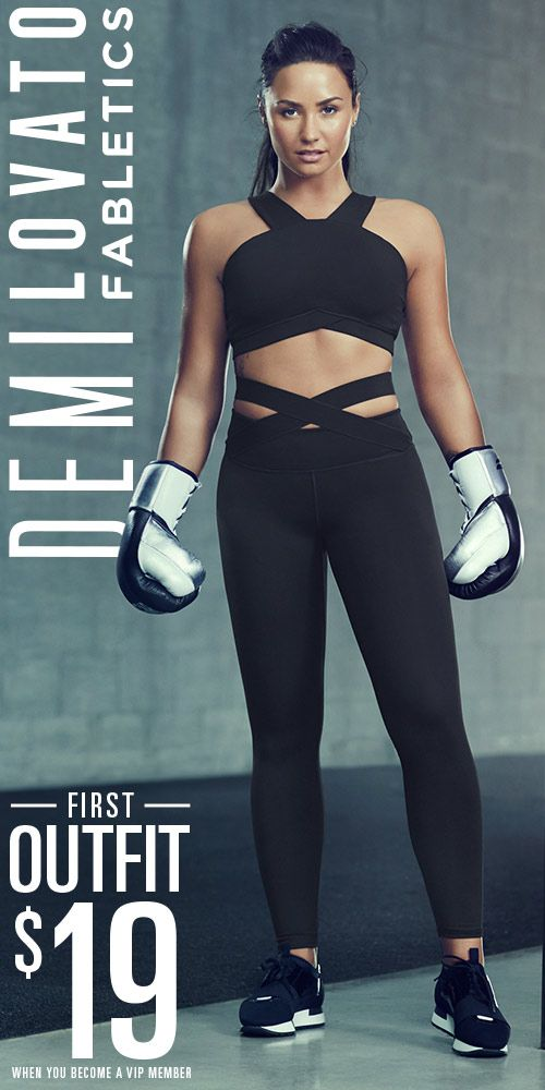 Fabletics is Introducing the Demi Lovato Collection!! For a Limited Time, Get Your First Outfit For $19 When You Take Our Quick 60 Second Quiz!