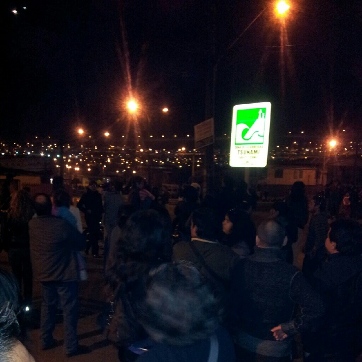 #simulacro #terremoto #iquique