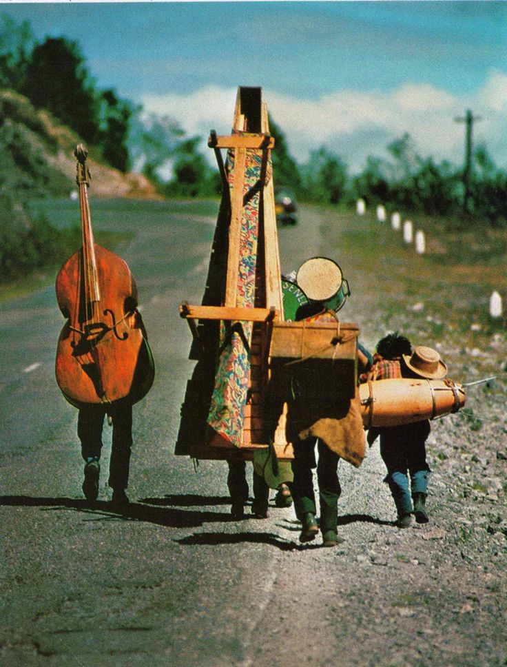 traveling musicians, national geographic, 1977 #music
