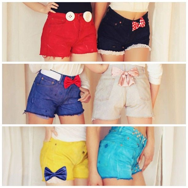 Dirty Rotten Vintage - Disney Shorts