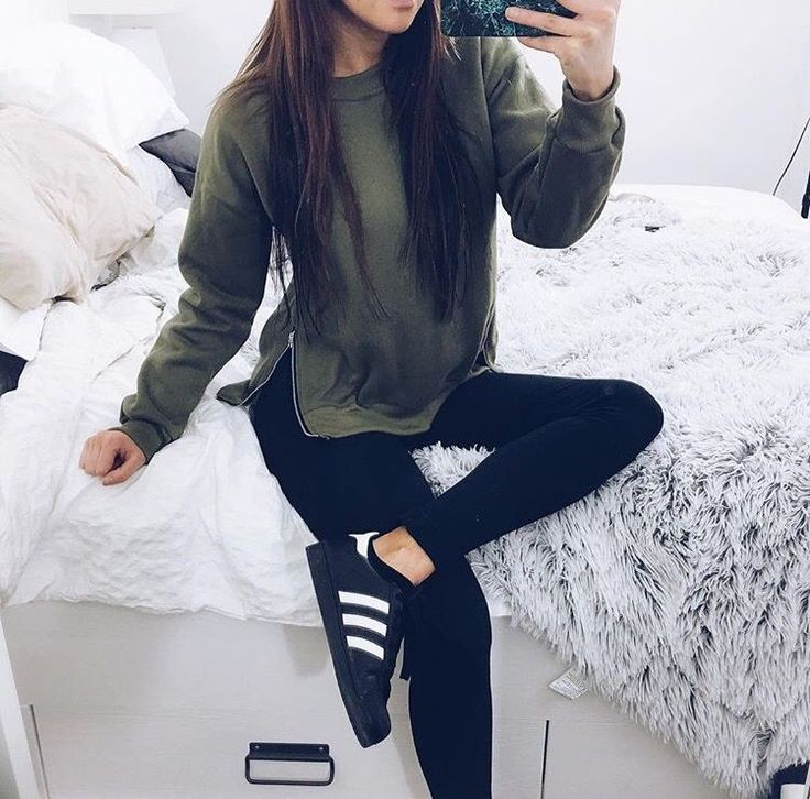 Outfit//shoes//fashion, girl, and adidas image