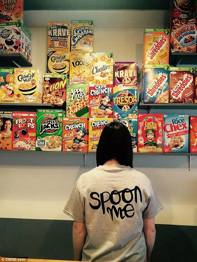 There will be more than 100 different types of cereal from all over the world served in the cafe