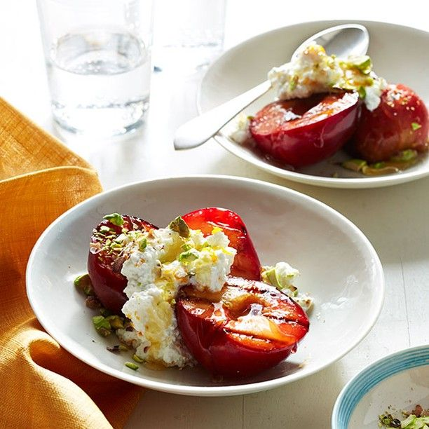 Ingredients  1 tbsp. granulated sugar  6 plums  1 c. ricotta  1 tsp. orange zest  2 tbsp. honey   c. shelled pistachios  Get the rest at http://ift.tt/2fz2Woc  #honey #honeydesserts #foodporn #yum #yummy #sweet #dinner #lunch #breakfast #fresh #tasty #delish #delicious #eating #foodpic #foodpics #eat #hungry #foodgasm #hot #foods #dessert #desserts #cake #icecream #dessertporn #delish #foods #delicious #sweettooth http://ift.tt/29P5M54 #honeybees #honeyrecipes