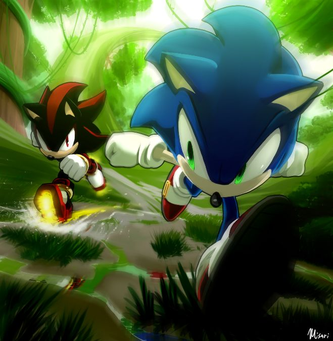 The Ultimate Lifeform vs Shadow by Myly14.deviantart.com on @DeviantArt