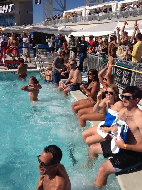 78 best jaguars images on pinterest everbank field - Jacksonville jaguars swimming pool ...