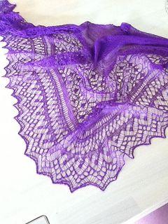 sjaal met gratis beschrijving op ravelry