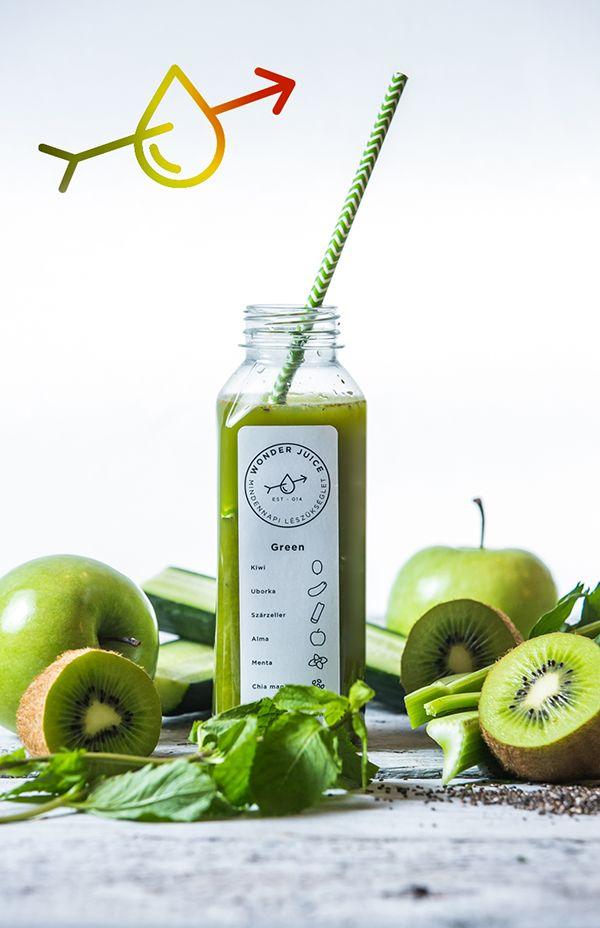 Wonder Juice image design on Behance