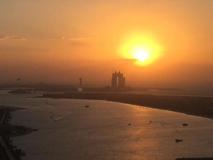 Abu Dhabi -- setting for new novel WILDERNESS OF MIRRORS