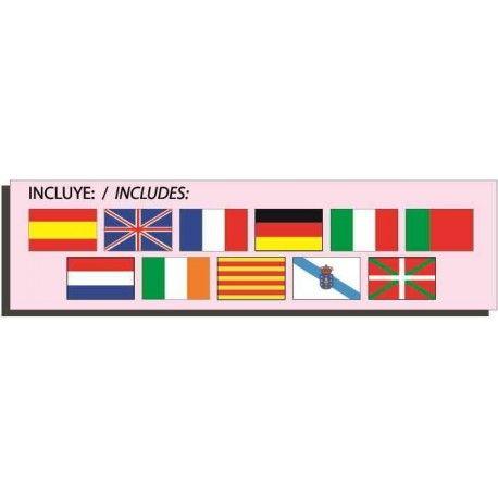 Formar Palavras com Fotografias. Um jogo multilingue com fotografias e letras para formar trinta e duas palavras.  Favorece o desenvolvimento da pré-leitura e da pré-escrita em onze idiomas diferentes. Brincar e Aprender. Brinquedos Didácticos para Crianças. http://www.planetadidactico.com/home/170-formar-palavras-com-fotografias.html