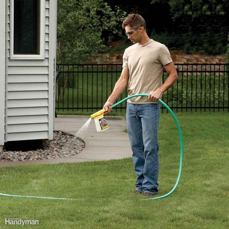 Kill Ants in Your Yard - Anthills are eyesores in yards, and the ants can ruin outside dining. If you only have ants in a certain area, like along your sidewalk, spot-treat the area with an outdoor insecticide. Liquid or granules work fine. For large-scale ant problems, use a lawn and garden insect killer that contains bifenthrin as the active ingredient. The spray will also kill other insects (read the label for a list). First mow the grass, then spray the insecticide on the entire lawn—you…