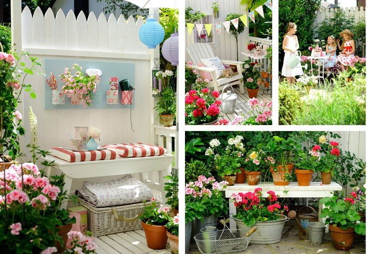 This looks like a totally fun garden party setting!  Love the color contrasts!