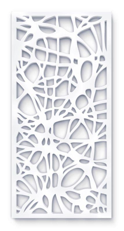 laser cut screen organic tugun pattern