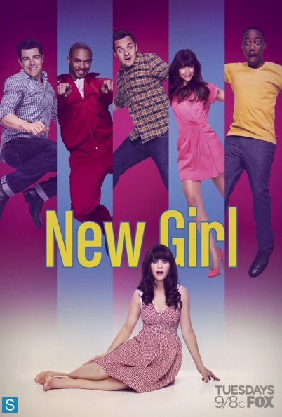"New Girl: SEASON 3 - Elizabeth Meriwether 2013 - DVD08166 -- ""Jess & Nick go 'all-in' on their romance, but soon realize that loving & living together will be tougher than they thought. Schmidt finds himself in double trouble when he dates Cece & Elizabeth at the same time. Unlucky-in-love Winston makes a special connection, too bad it's only with the roommates' new house cat."""