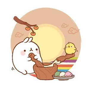 #해피추석 되세요♥ Have a nice #chuseok . . #thanksgiving #추석 #연휴 #일러스트 #illust…