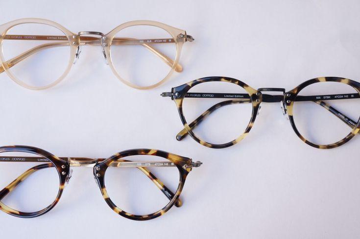 OLIVER PEOPLES OP-505 3models    optician   PonMegane@Japan