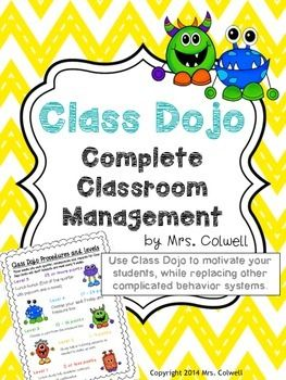 Class Dojo Classroom Management and Behavior System is a comprehensive packet to put Class Dojo to work in your classroom! Set up your account and then use these printables to take your Class Dojo experience to the next level. No more need for clipping up and down on a daily basis if you use Class Dojo to track behaviors.